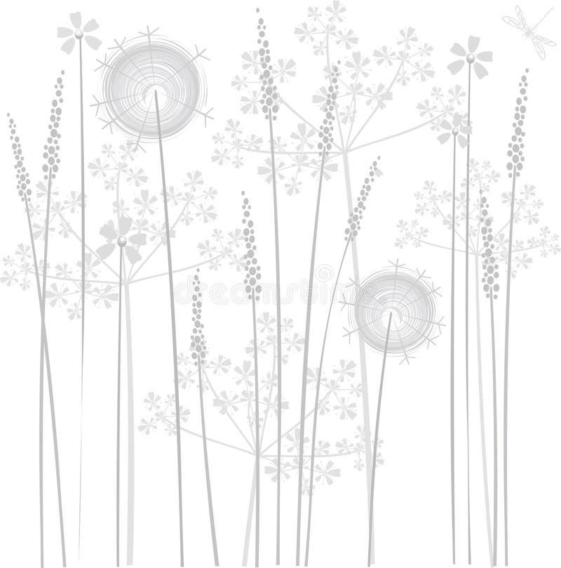 έλος λουλουδιών διανυσματική απεικόνιση