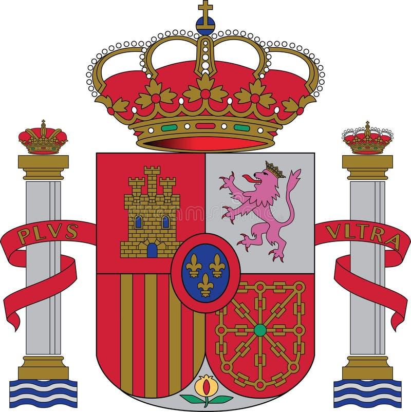 έμβλημα εθνική Ισπανία στοκ φωτογραφίες με δικαίωμα ελεύθερης χρήσης