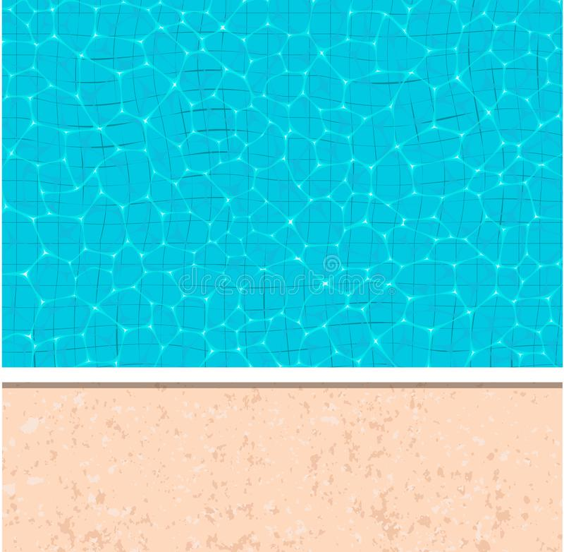 Έμβλημα κομμάτων θερινών λιμνών με το διάστημα για το κείμενο απεικόνιση αποθεμάτων