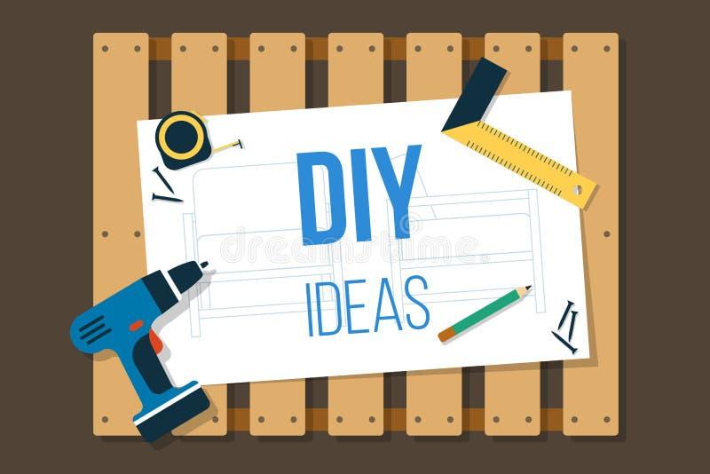 Έμβλημα DIY απεικόνιση αποθεμάτων