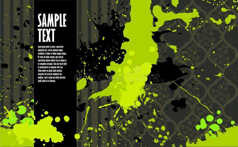 έμβλημα grunge μοντέρνο διανυσματική απεικόνιση