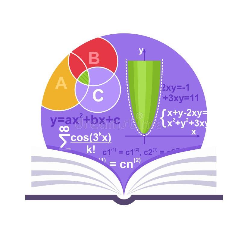Έμβλημα μαθηματικών απεικόνιση αποθεμάτων