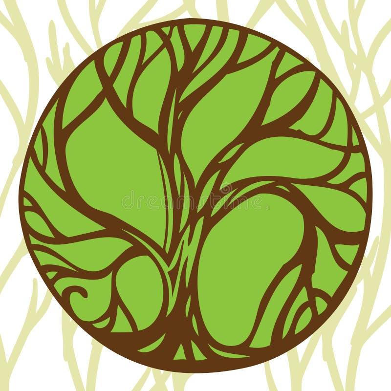 Δέντρο σημαδιών απεικόνιση αποθεμάτων