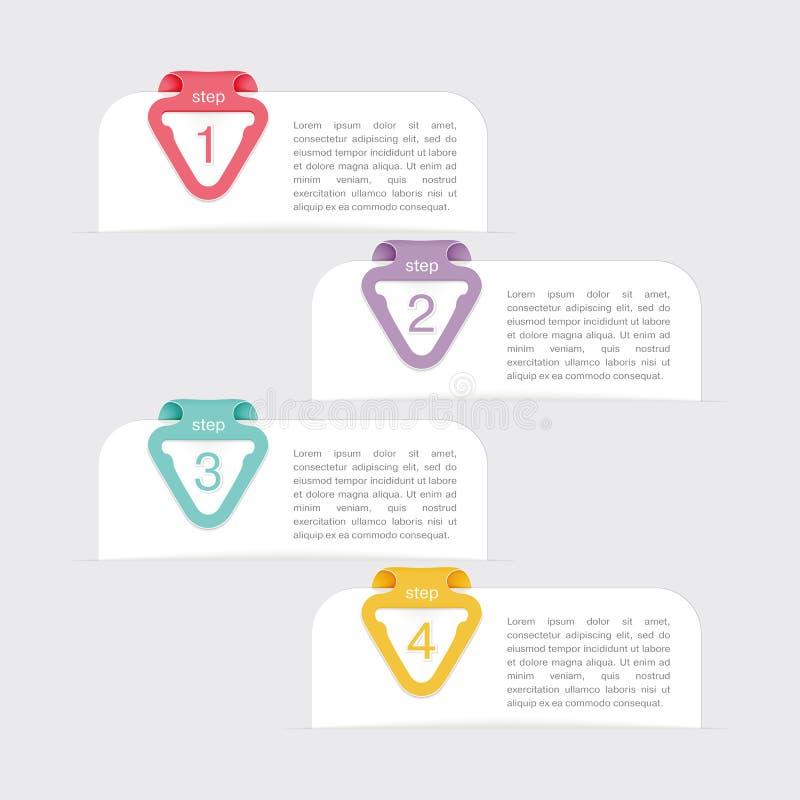 Έμβλημα, infographic απεικόνιση αποθεμάτων