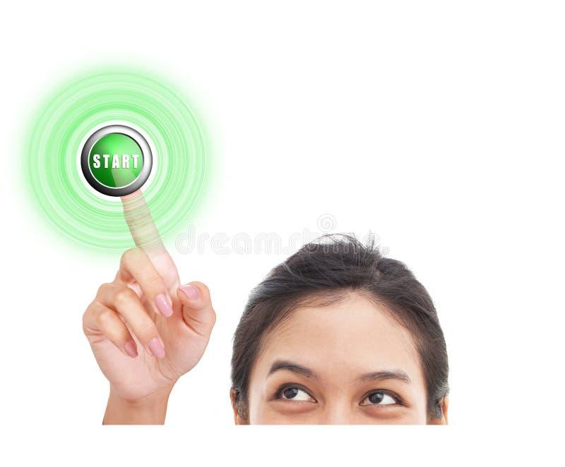 έναρξη κουμπιών στοκ εικόνα με δικαίωμα ελεύθερης χρήσης