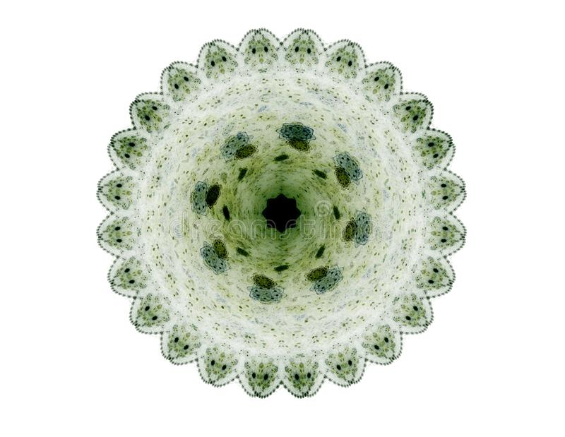 Ένας αφηρημένος υπολογιστής παρήγαγε το σύγχρονο fractal σχέδιο στο σκοτεινό υπόβαθρο Αφηρημένη fractal σύσταση χρώματος abstact  ελεύθερη απεικόνιση δικαιώματος