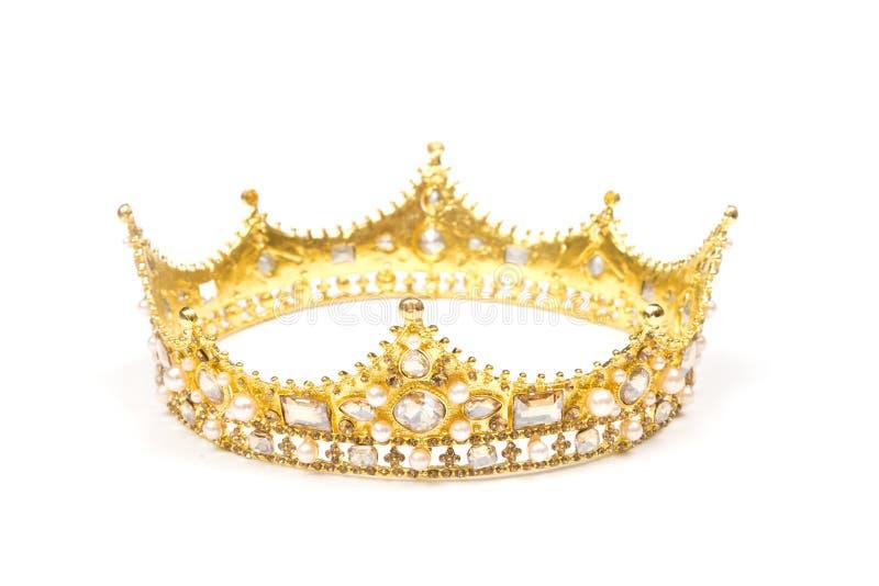 Ένας βασιλιάς ή βασίλισσες Crown στοκ εικόνα