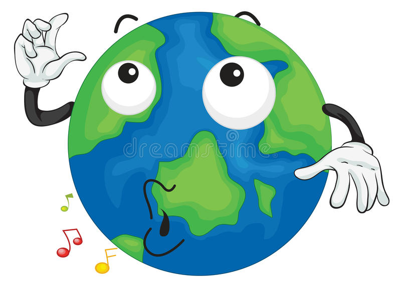 Ένας γήινος πλανήτης απεικόνιση αποθεμάτων