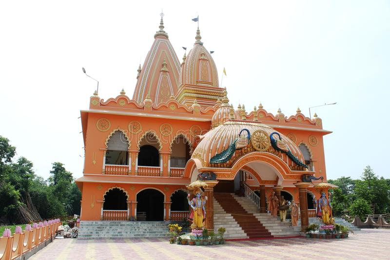 Ένας ινδός ναός στοκ εικόνα