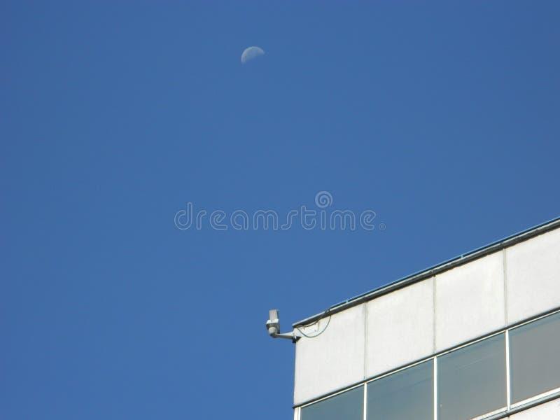 Ένας κατάσκοπος στο φεγγάρι στοκ φωτογραφία με δικαίωμα ελεύθερης χρήσης