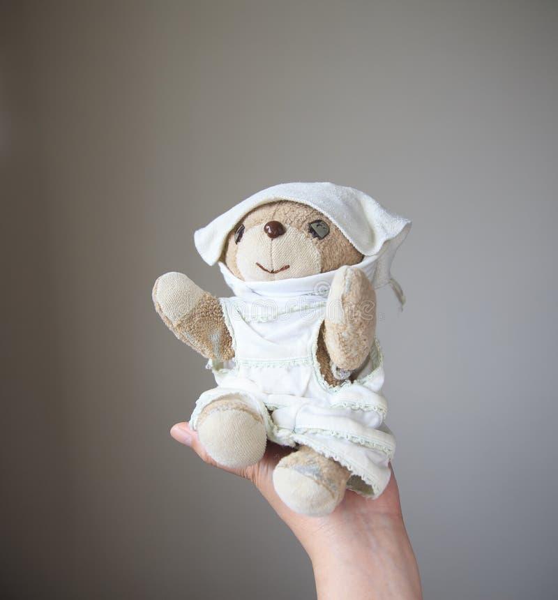 Ένας καλός λίγα teddy αντέχει στοκ εικόνες