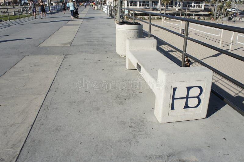 Ένας κενός πάγκος HB στοκ εικόνες