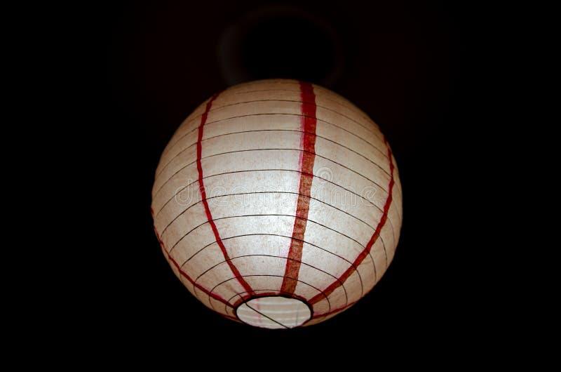 Ένας κινεζικός κόκκινος λαμπτήρας στοκ εικόνα