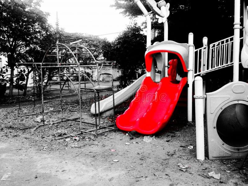 Ένας κόκκινος ολισθαίνων ρυθμιστής στοκ φωτογραφίες με δικαίωμα ελεύθερης χρήσης