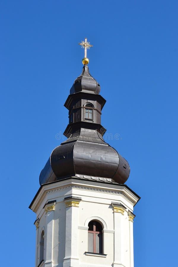 Ένας παλαιός πύργος κουδουνιών σε Pinsk στοκ φωτογραφίες με δικαίωμα ελεύθερης χρήσης