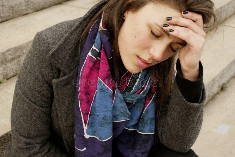 Ένας πόνος γυναικών whith στοκ φωτογραφία