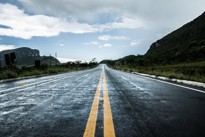 Ένας δρόμος κάπου στοκ εικόνες