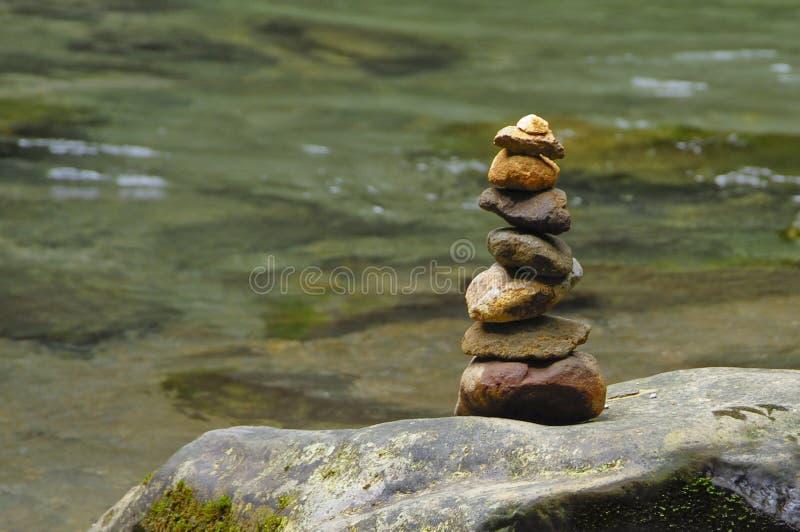 Ένας τύμβος χαρακτηρίζει την παρουσία ενός επισκέπτη του ποταμού Λα Fortuna στοκ φωτογραφία με δικαίωμα ελεύθερης χρήσης