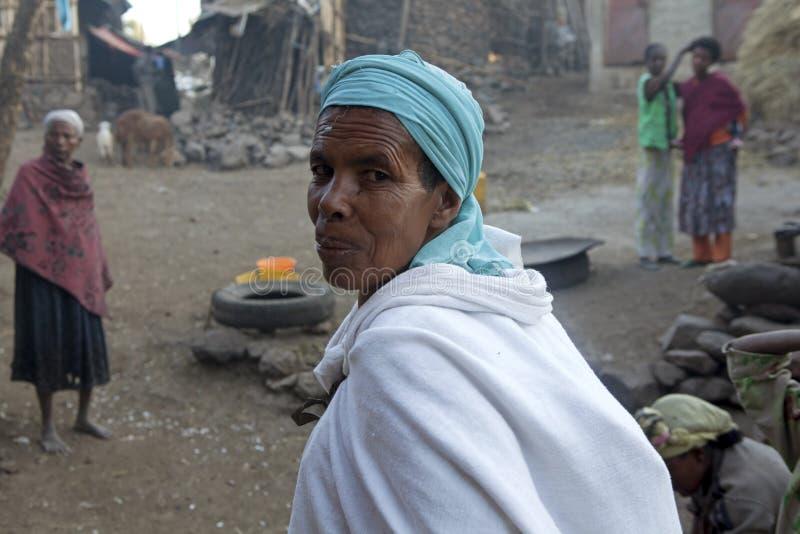 Ένας χωρικός, Αιθιοπία στοκ φωτογραφία με δικαίωμα ελεύθερης χρήσης