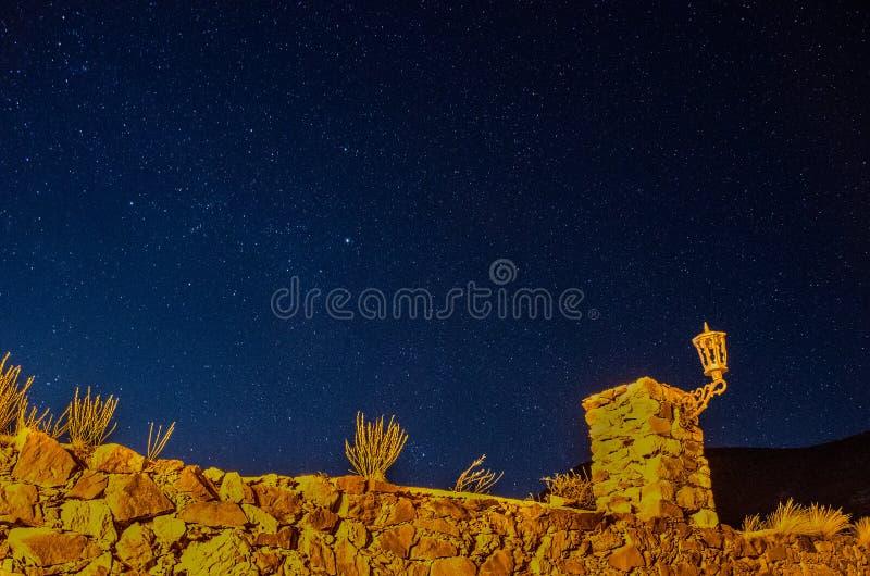Έναστρη νύχτα στη πόλη-φάντασμα 1 στοκ φωτογραφίες με δικαίωμα ελεύθερης χρήσης
