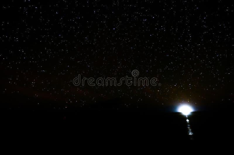 Έναστρος νυχτερινός ουρανός στοκ φωτογραφία με δικαίωμα ελεύθερης χρήσης