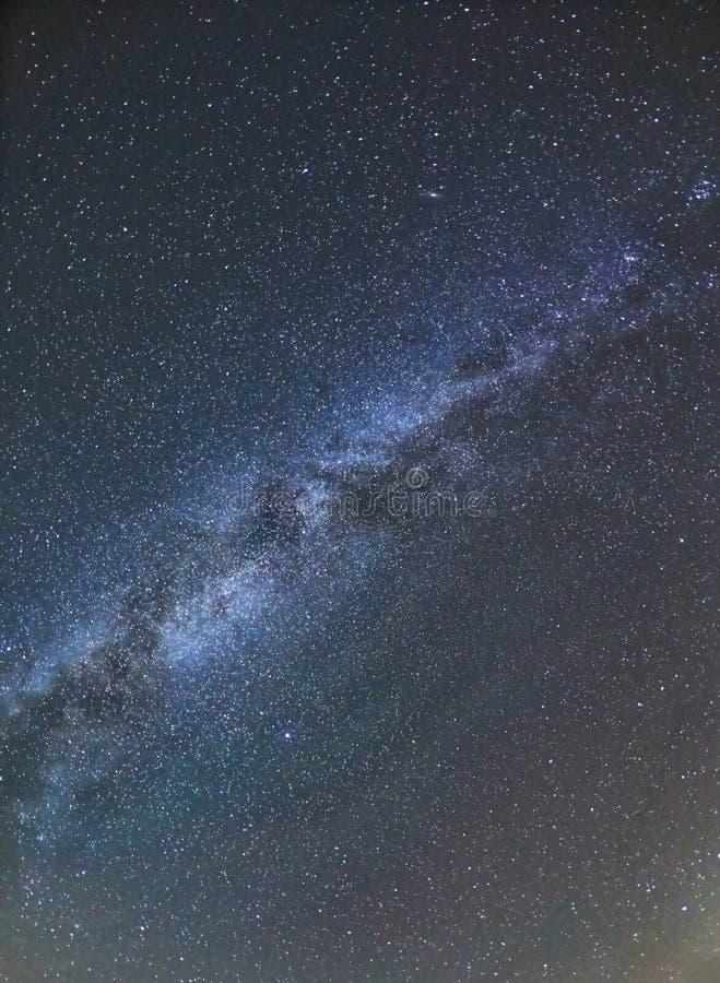 Έναστρος ουρανός, γαλακτώδης τρόπος στοκ φωτογραφία