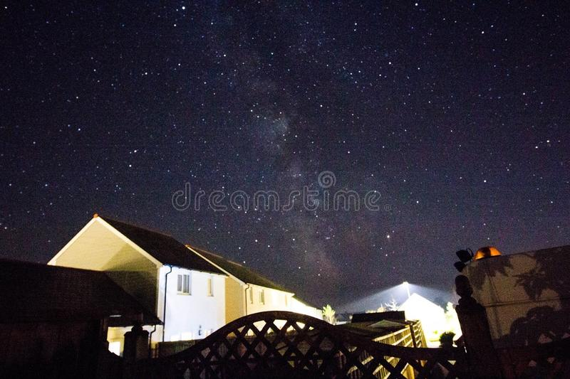 Έναστρος ουρανός 1 στοκ εικόνα