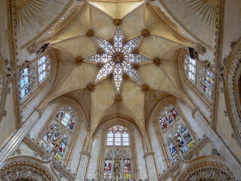 Έναστρος υπόγειος θάλαμος - Burgos στοκ εικόνα με δικαίωμα ελεύθερης χρήσης