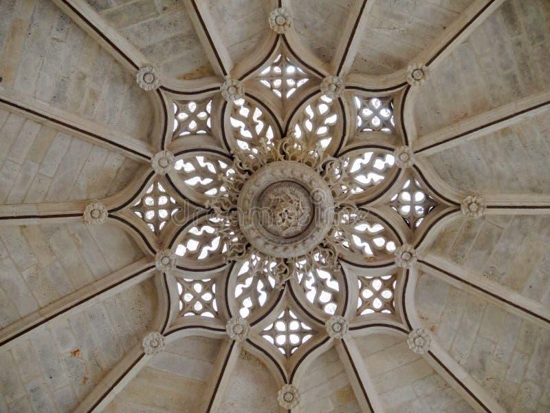 Έναστρος υπόγειος θάλαμος - Burgos στοκ φωτογραφίες