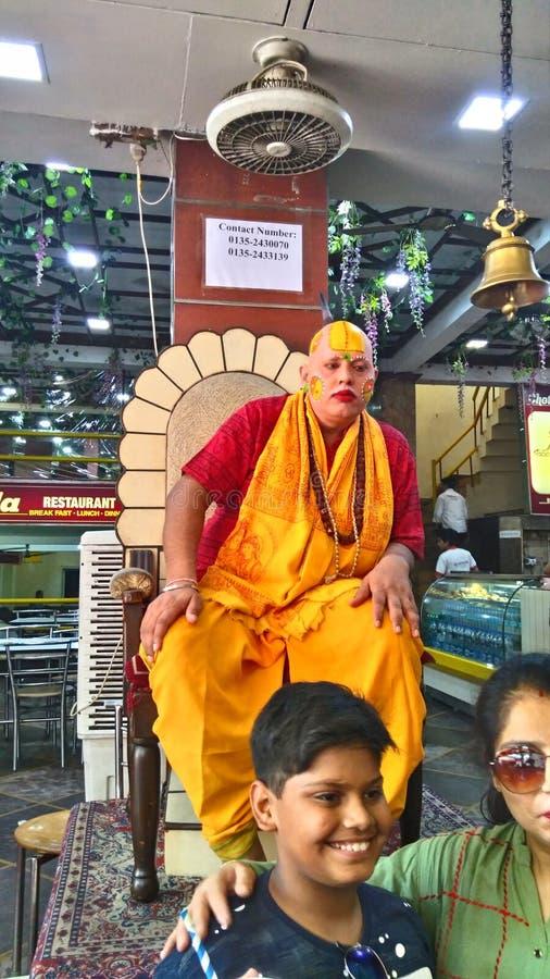 Ένα άτομο κάλεσε Chotiwala από Rishikesh Uttarakhand Ινδία στοκ φωτογραφία με δικαίωμα ελεύθερης χρήσης