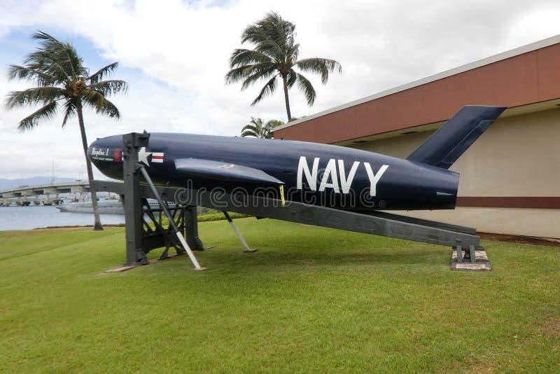 Ένα έκθεμα επί του ιστορικού τόπου Pearl Harbor στοκ εικόνα με δικαίωμα ελεύθερης χρήσης