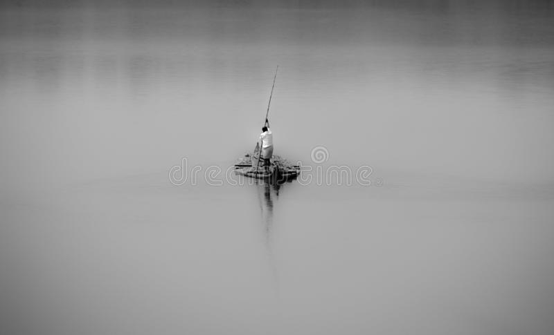 Ένα ήρεμο και σιωπηλό συναίσθημα στοκ εικόνα