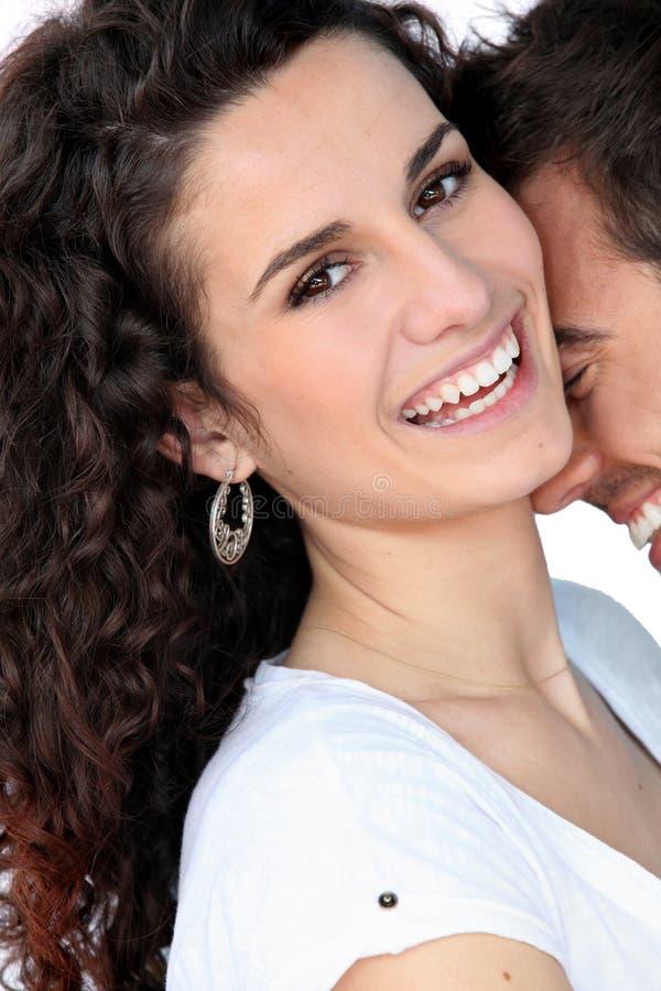 Ένα αγαπώντας ζεύγος στοκ φωτογραφία