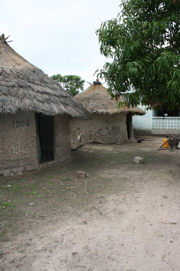 Ένα αγροτικό χωριό της Γκάμπιας στοκ εικόνα