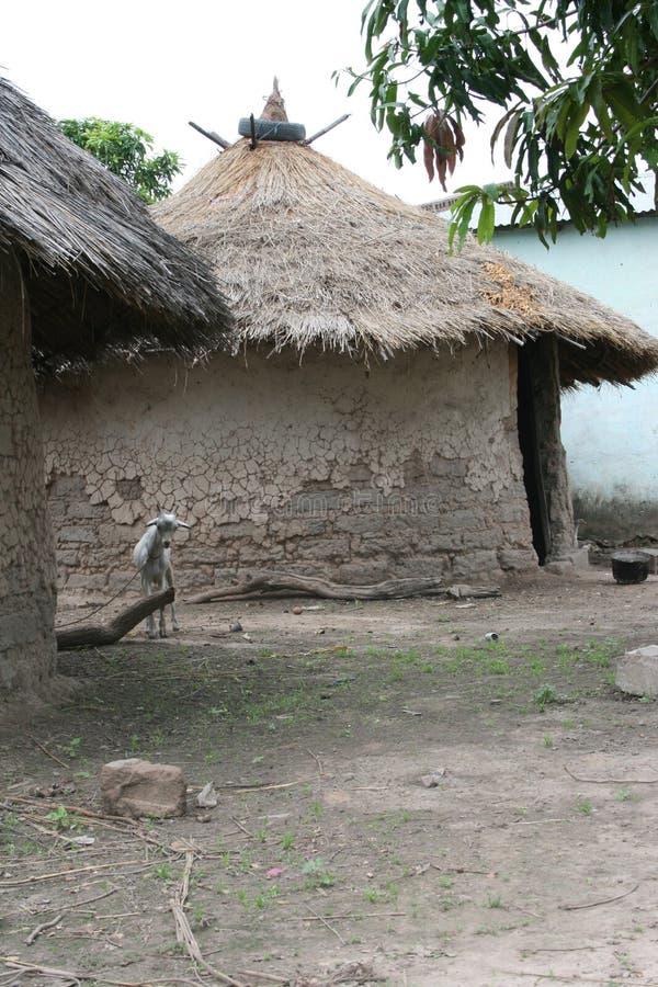 Ένα αγροτικό χωριό της Γκάμπιας στοκ φωτογραφία με δικαίωμα ελεύθερης χρήσης
