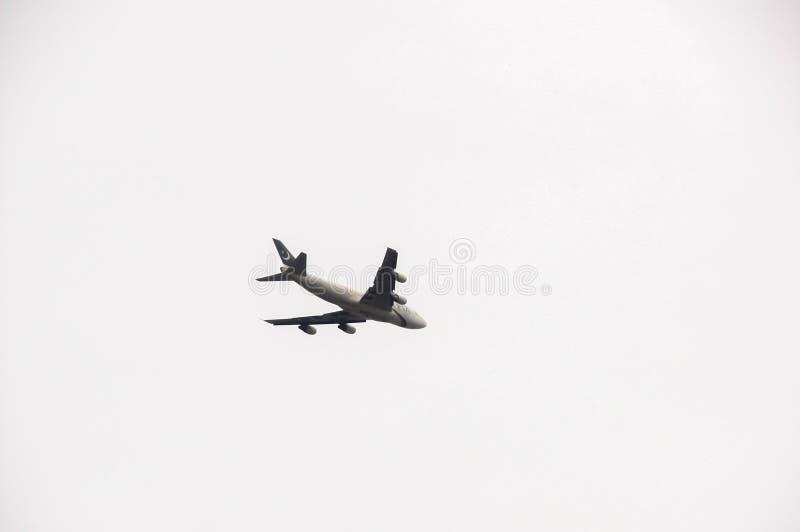 Ένα αεροπλάνο στοκ εικόνες με δικαίωμα ελεύθερης χρήσης