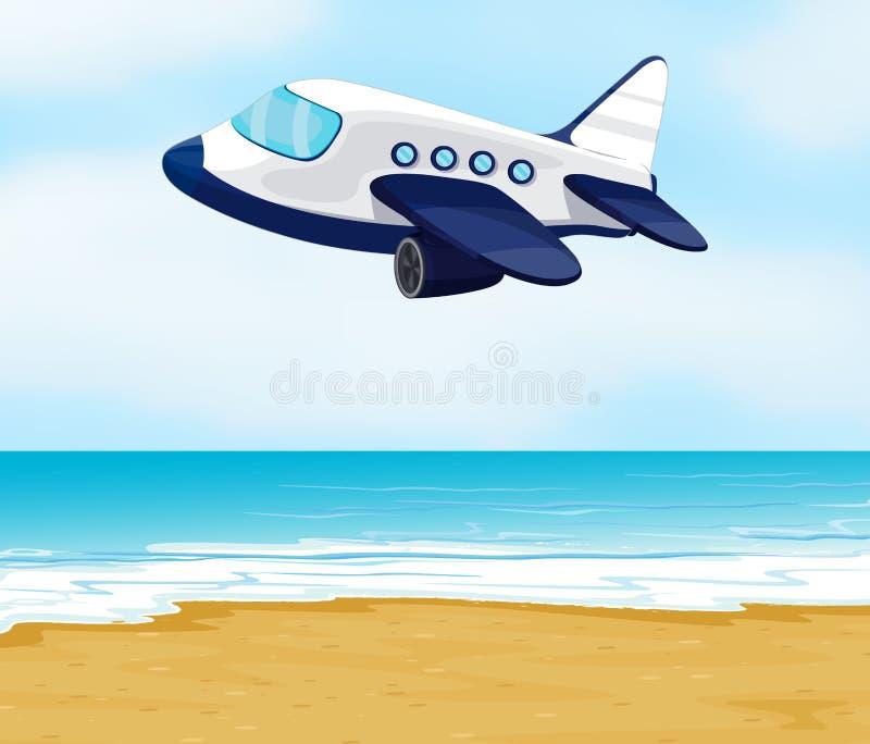 Ένα αεροπλάνο απεικόνιση αποθεμάτων
