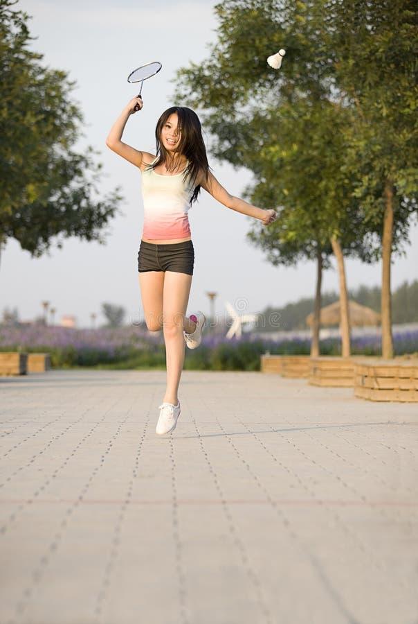 Ένα αθλητικό κορίτσι στοκ φωτογραφίες