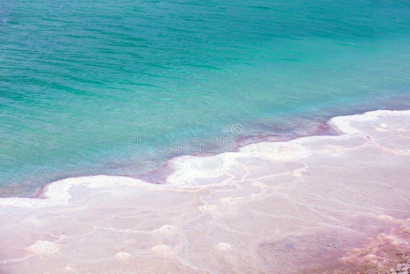 Ένα αλατισμένο σχέδιο της νεκρής θάλασσας στοκ φωτογραφία με δικαίωμα ελεύθερης χρήσης