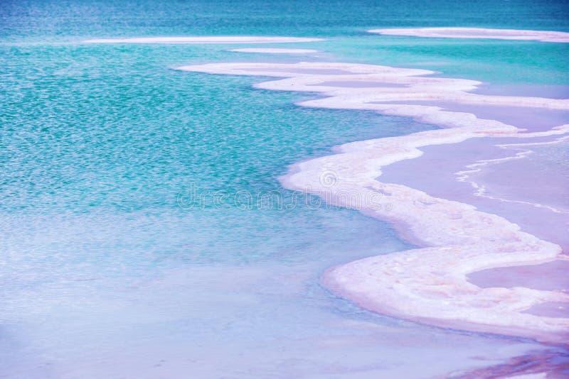 Ένα αλατισμένο σχέδιο της νεκρής θάλασσας στοκ εικόνα με δικαίωμα ελεύθερης χρήσης