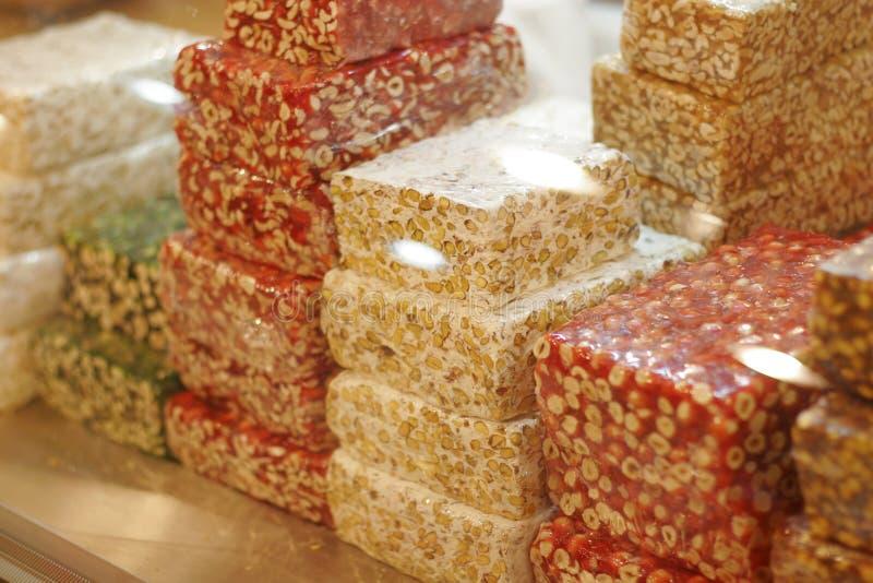 Ένα ανάμεικτο αραβικό γλυκό στοκ φωτογραφία με δικαίωμα ελεύθερης χρήσης
