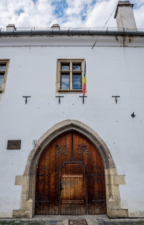Ένα από τα παλαιότερα κτήρια σε Cluj-Napoca στοκ εικόνες με δικαίωμα ελεύθερης χρήσης