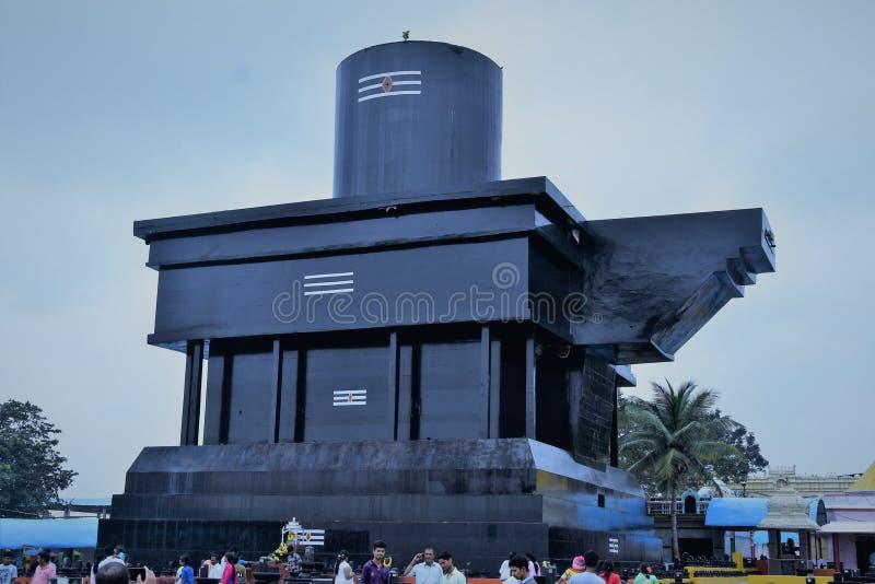 Ένα από το μεγαλύτερο linga στον κόσμο στοκ εικόνες
