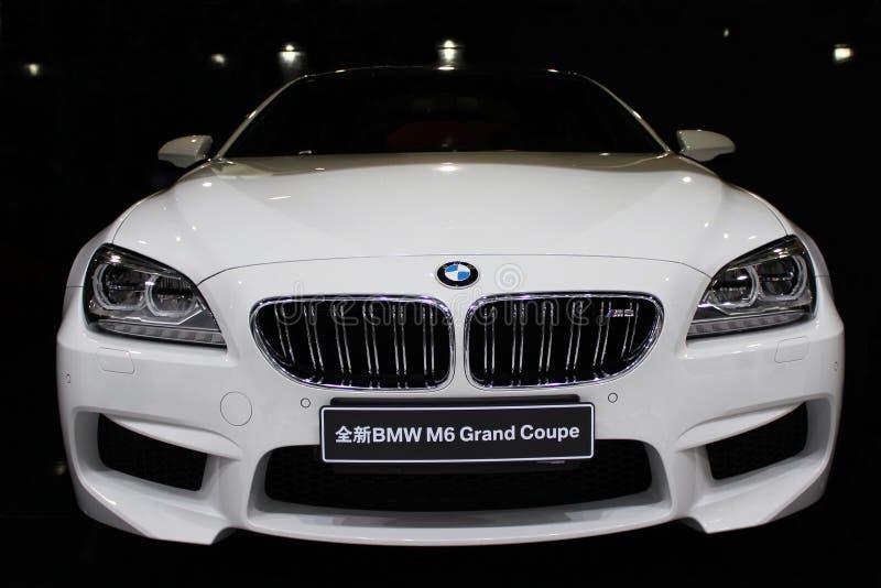 Ένα αυτοκίνητο της BMW στοκ φωτογραφίες με δικαίωμα ελεύθερης χρήσης