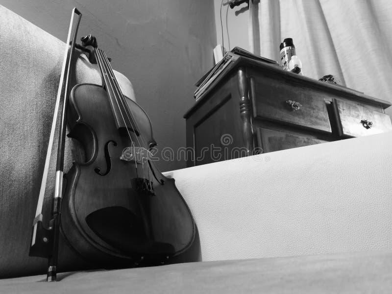 Ένα βιολί στοκ φωτογραφίες