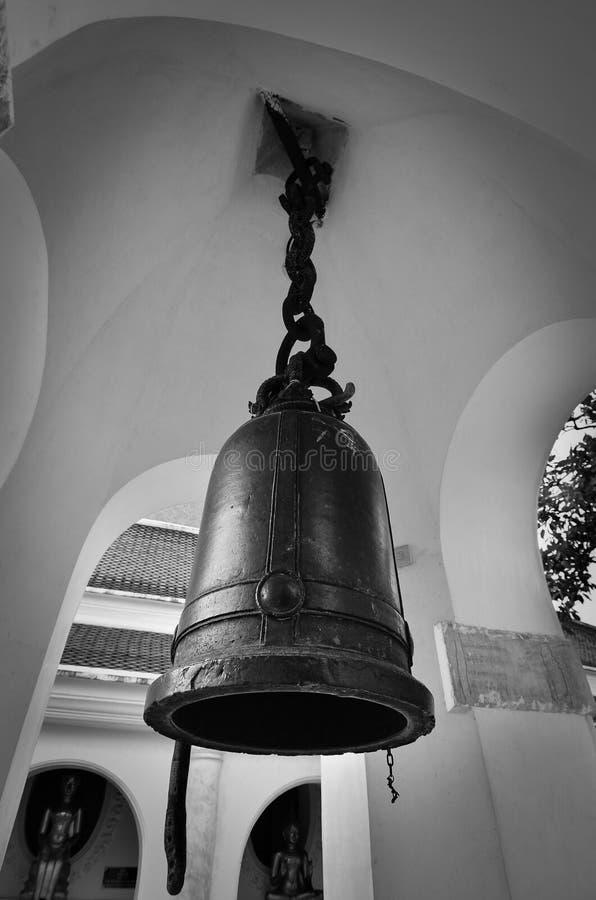 Ένα βουδιστικό κουδούνι στοκ φωτογραφίες