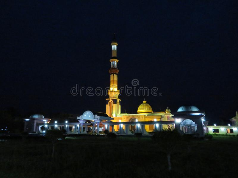 Ένα διάσημο τζαμί στο Barisal του Μπανγκλαντές στοκ φωτογραφία με δικαίωμα ελεύθερης χρήσης