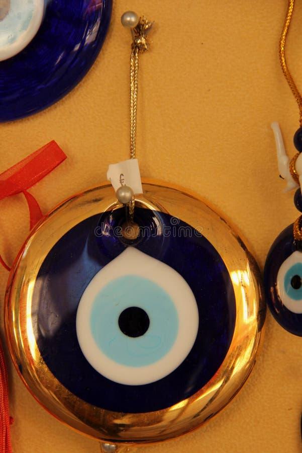Ένα ελληνικό Matiasma ή ένα κακό μάτι στοκ φωτογραφία με δικαίωμα ελεύθερης χρήσης