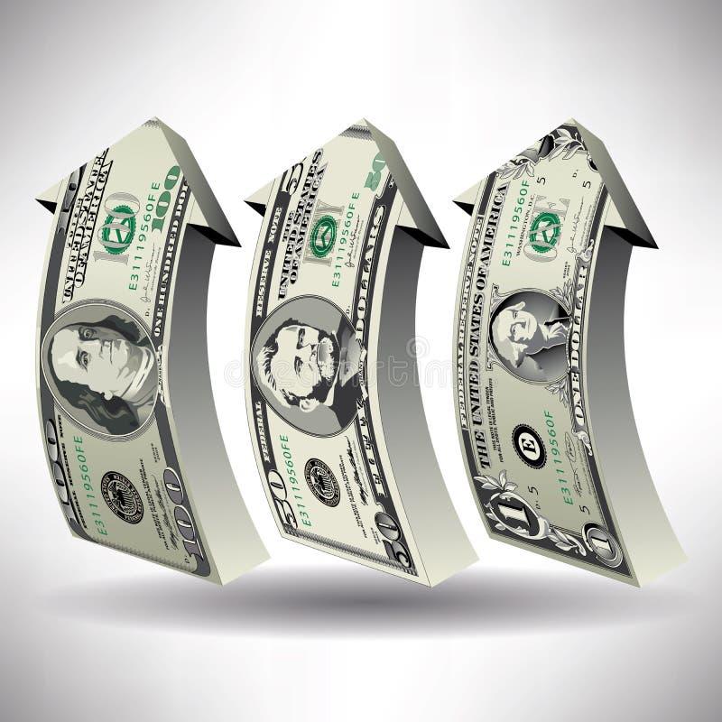 Ένα λεπτομερές διανυσματικό σχέδιο των λογαριασμών διανυσματική απεικόνιση