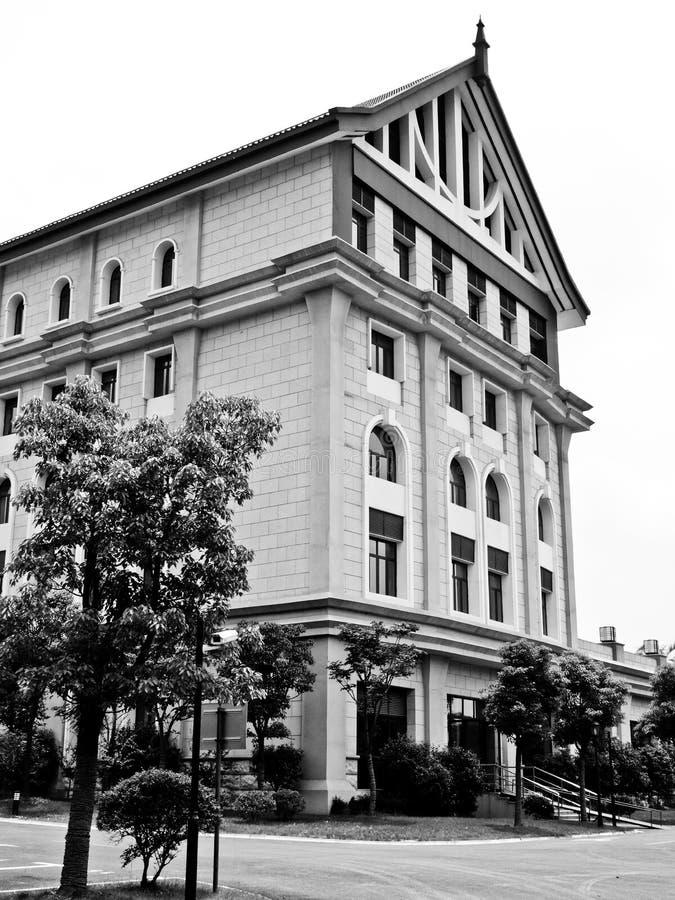 Ένα ευρωπαϊκό σπίτι στη Σαγκάη στοκ φωτογραφίες με δικαίωμα ελεύθερης χρήσης